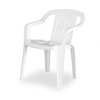 White Crown Chair