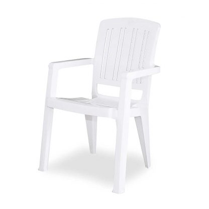 White Devonport Chair