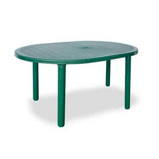 Oval Bermuda Patio Table